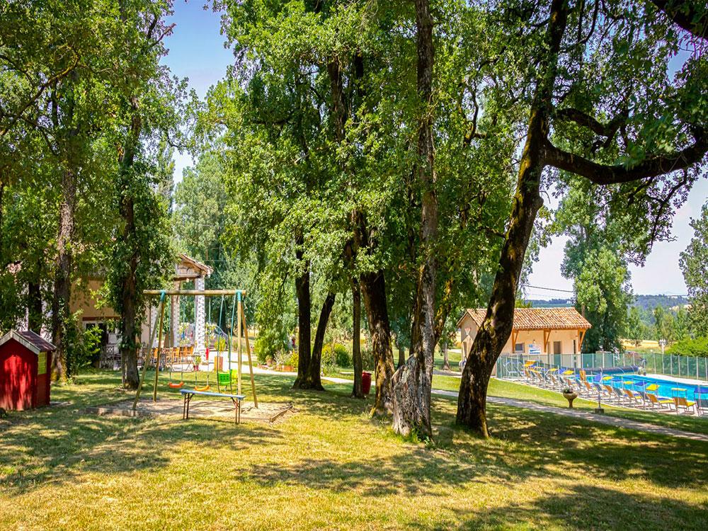 camping nature tarn domaine miraval