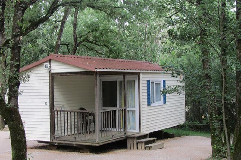 Location mobil-home au camping du Domaine de Miraval