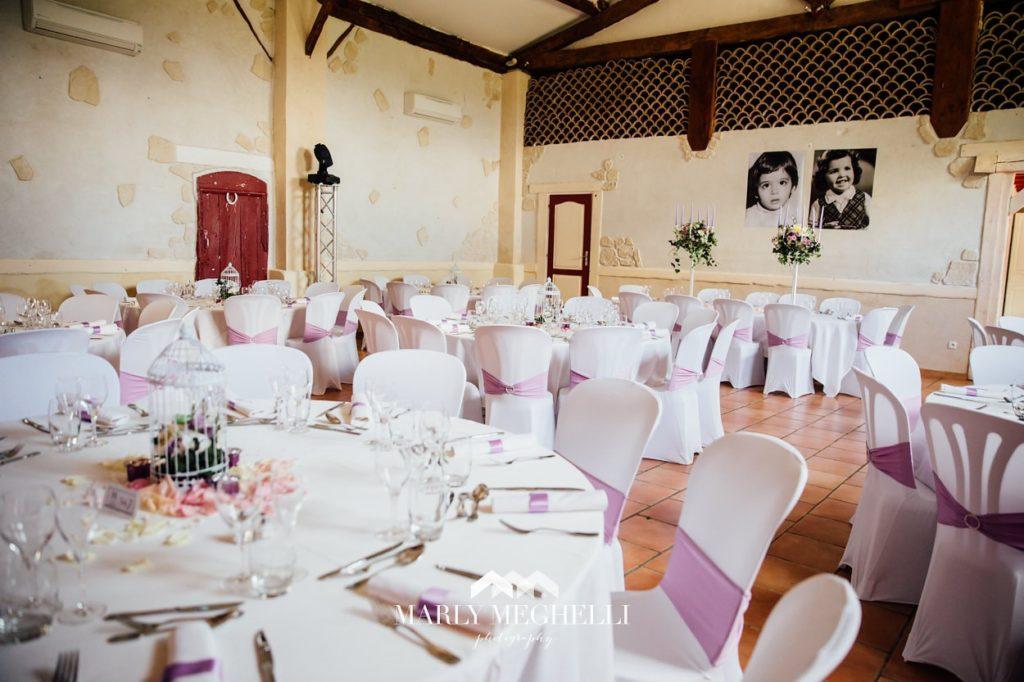 Réservation salle de réception, Domaine de Miraval