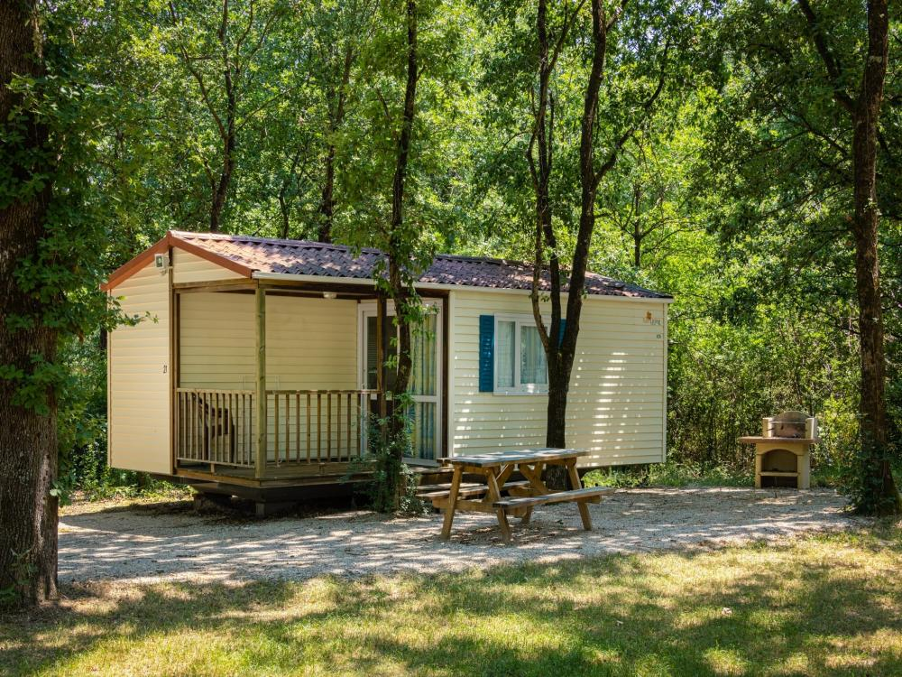 location mobilhome camping tarn domaine miraval
