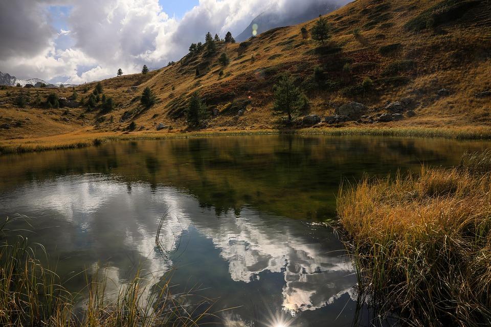 lac et montage noire tarn
