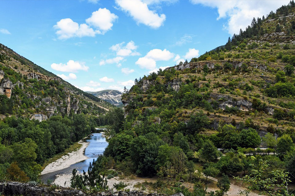 riviere et montagne noire tarn