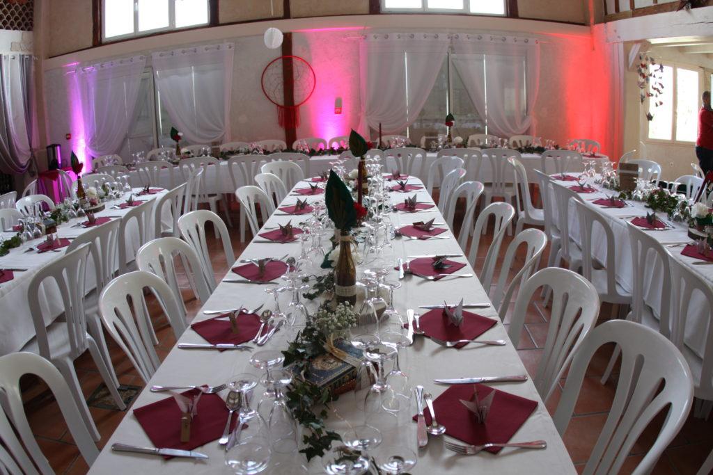 salle de mariage reception tarn domaine miraval